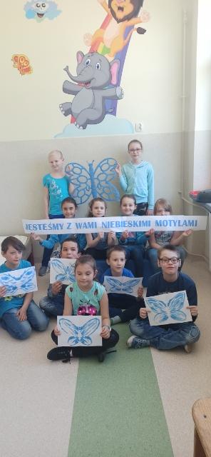 Akcja challenge niebieskie motyle 2021